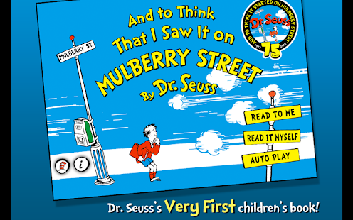 Mulberry Street - Dr. Seuss - screenshot thumbnail