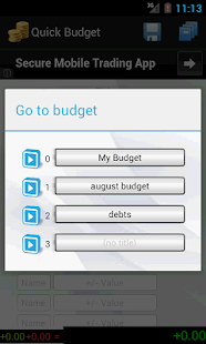 Quick Budget- screenshot thumbnail