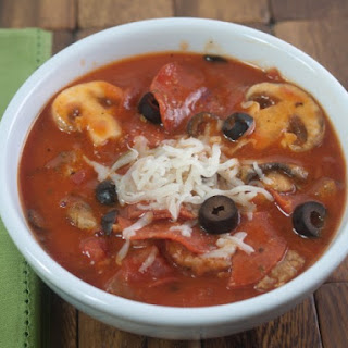 Slow Cooker Pizza Soup Recipe