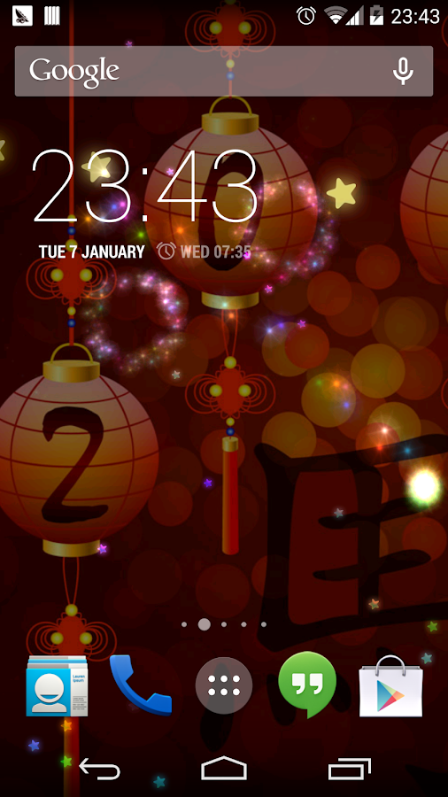 Chinese Fireworks Horse Lwp - screenshot