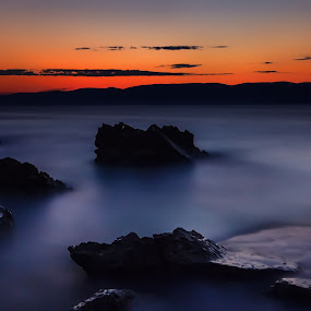 A new day is born by Florin Ihora - Landscapes Waterscapes ( sea, long exposure, sunrise, seascape, down,  )
