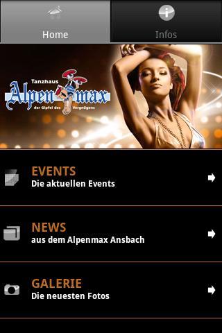 Alpenmax Ansbach - screenshot