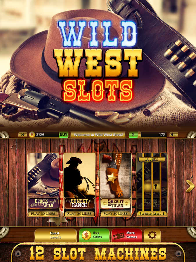 play slots online wild west spiele
