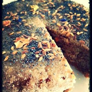 Dense and Moist Orange Peel & Almond Cake.