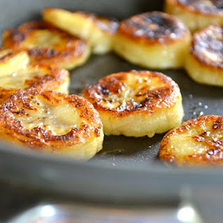 """fried"" Honey Banana."