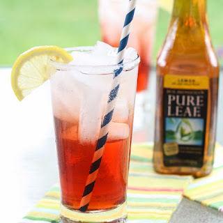 Cranberry Tea Spritzers.