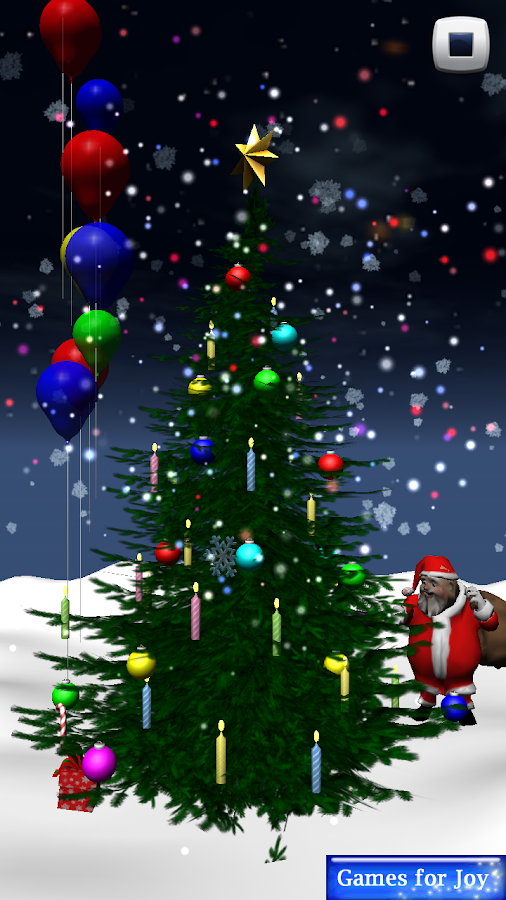 Christmas tree 3d decoration android apps on google play for 3d christmas decoration