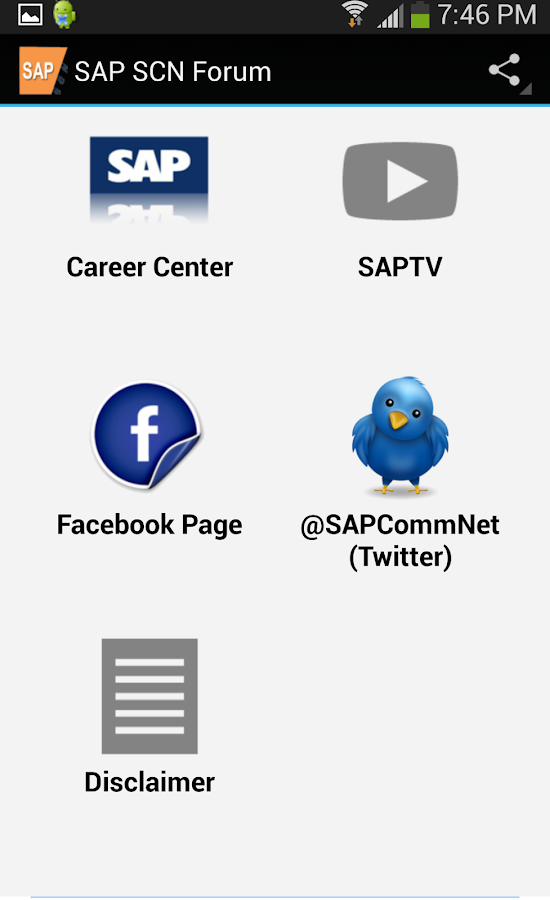 SAP SCN- screenshot