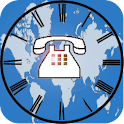Phone World Clock and Timezone logo