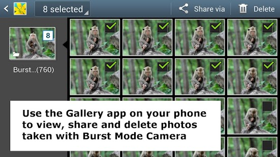 Burst Mode Camera - screenshot thumbnail