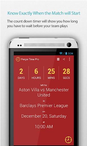 Man United Schedule