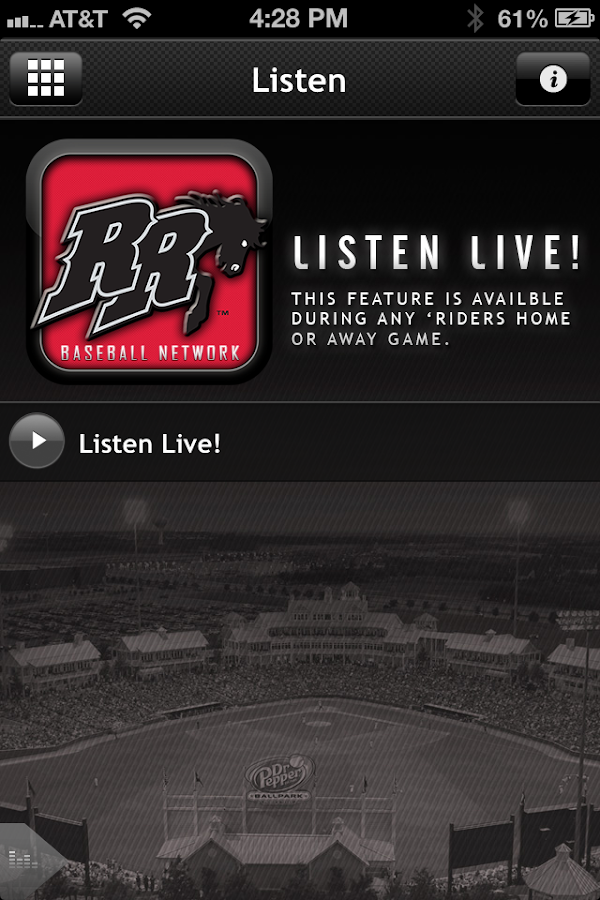 Frisco RoughRiders Baseball - screenshot