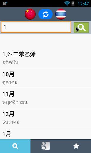 Chinese Thai Dictionary