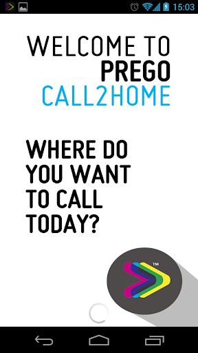 Prego Call2Home