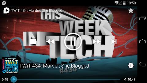 uPod Podcast Player Screenshot 5