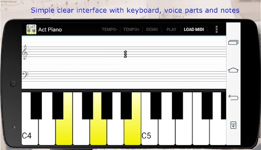 Act Piano- screenshot thumbnail