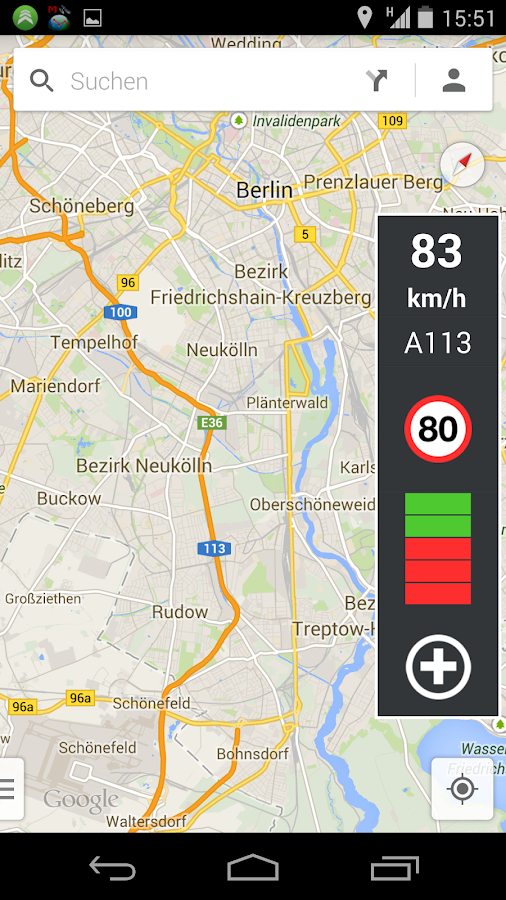 Blitzer.de PLUS - screenshot