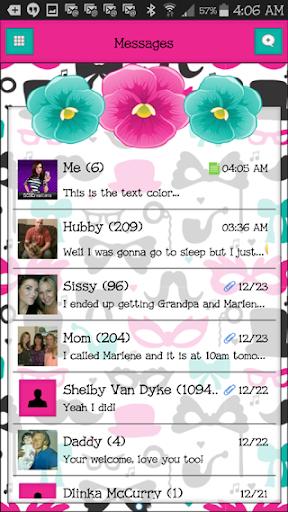 GO SMS THEME - SCS441