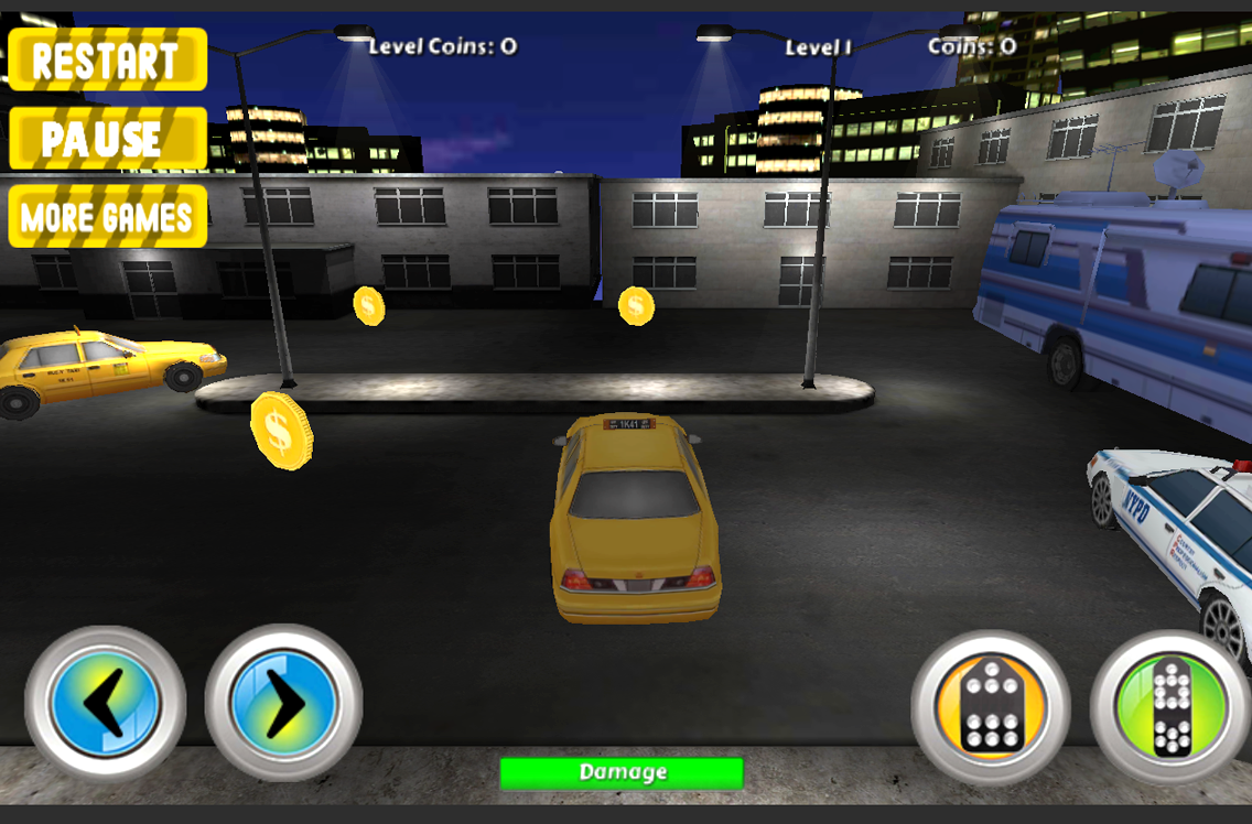 Airport 3D Taxi Parking- screenshot