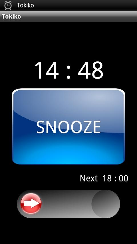 Alarm Clock Tokiko - screenshot