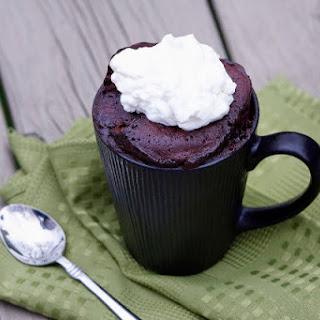 Nutella Mug Cake.