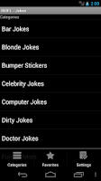 Screenshot of Jokes - iROFL