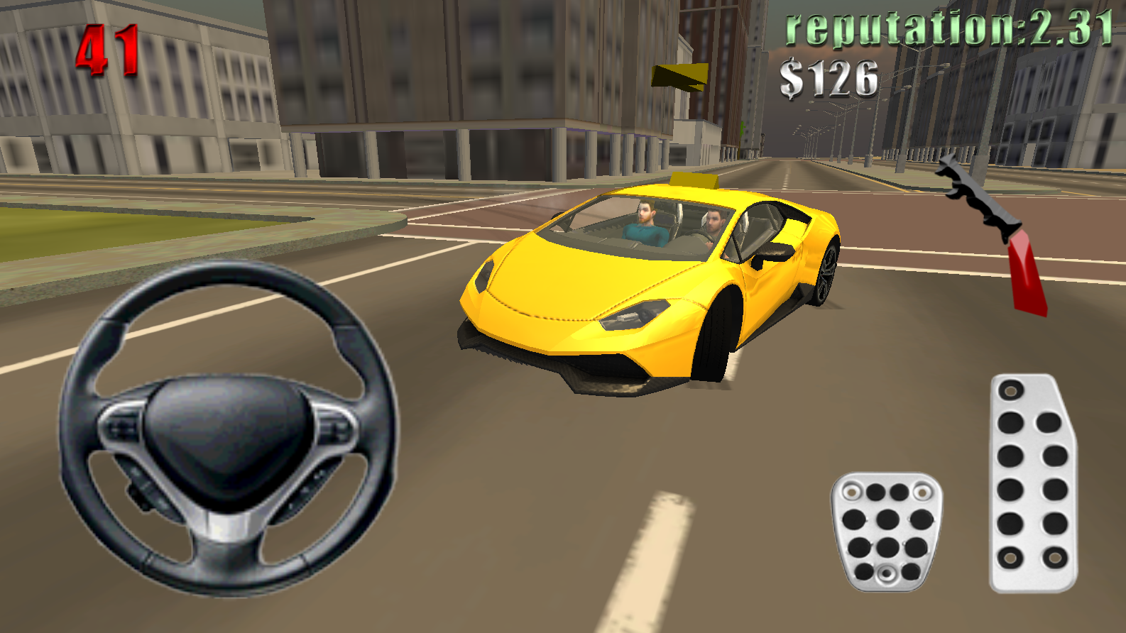 Car Games 2016 >> Fast Taxi Driver 2016 Google Play Store Revenue Download