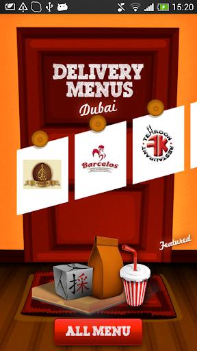 Dubai Menus