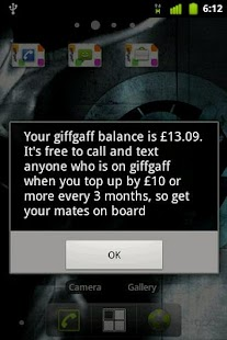 giffgaff - screenshot thumbnail