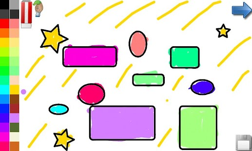 Coloring Shapes for Toddlers- screenshot thumbnail