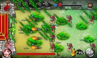 Screenshot of 3 Kingdoms TD:Arrow Defense