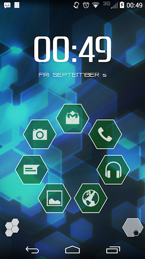 Senary Smart Launcher Theme
