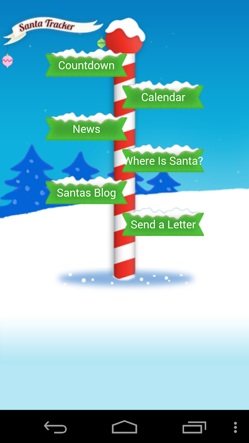 Santa Tracker Free- screenshot
