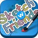 Sketch W Friends for Tablets logo