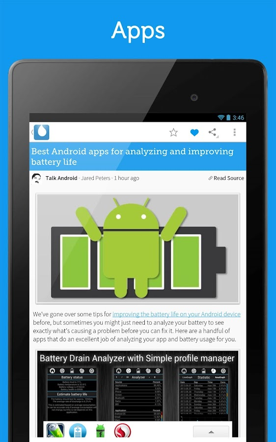 Drippler-Android Apps&Updates - screenshot