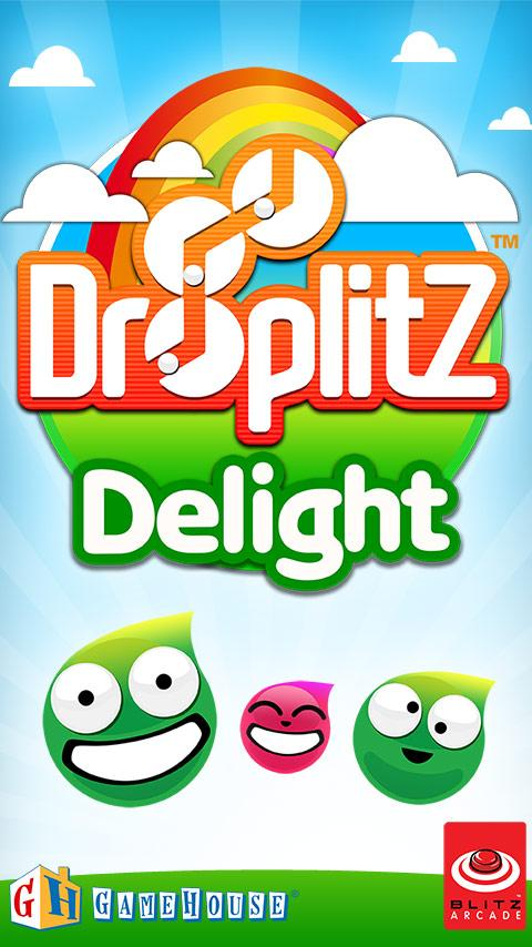 Droplitz Delight Lite - screenshot