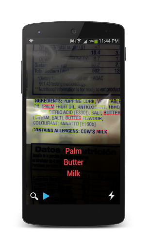 DietRadar - Ingredient Scanner