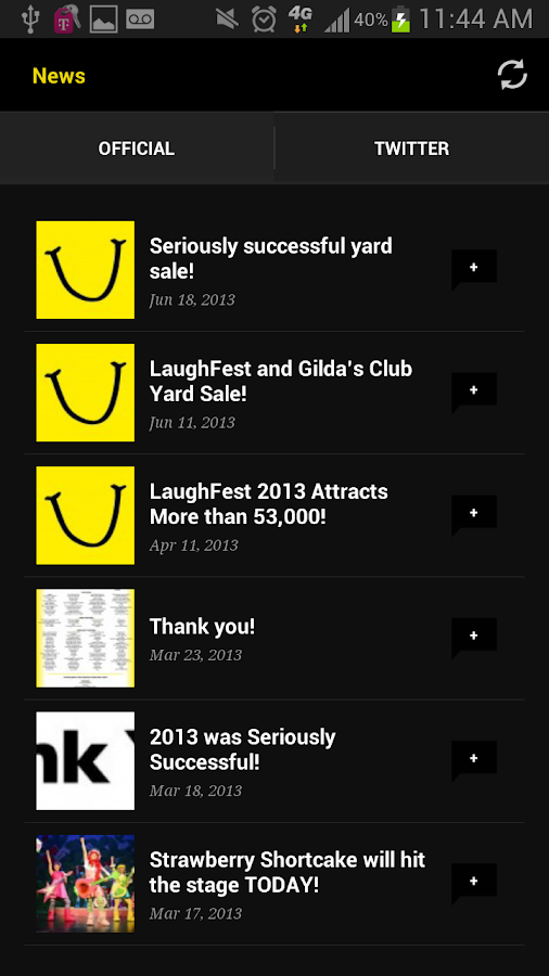 LaughFest - screenshot