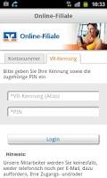 Screenshot of Online-Filiale