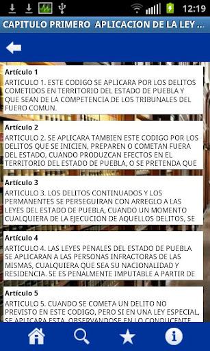 Codigos Puebla