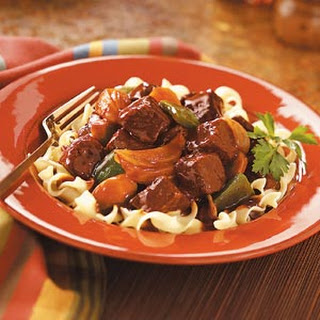 Sweet-Sour Beef.