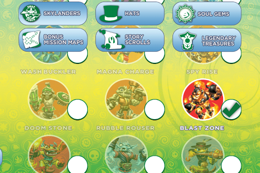 Skylanders SWAP Force Map App for PC