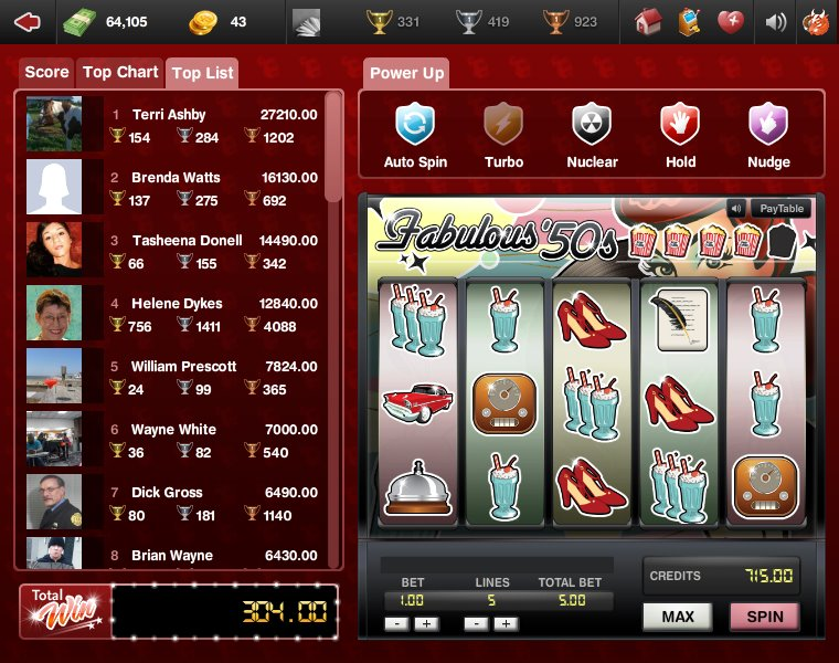 free slot machine tournaments online