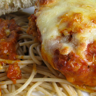 Lightened-Up Chicken Parm.