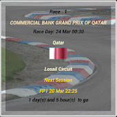 Motorcycle GP 2014 Widget