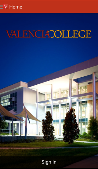 Valencia College- screenshot