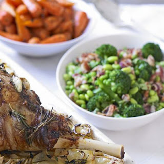 Peas & Beans with Pancetta & Mint Recipe