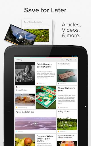 Pocket - читаем интересные статьи в любое удобное время