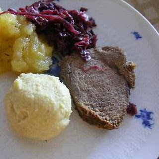 Sauerbraten With Raisins