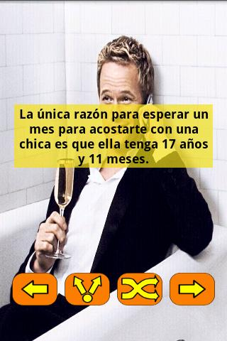 Frases Barney Stinson Español- screenshot